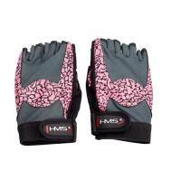 Перчатки для фитнеса женские HMS RST03 Pink L