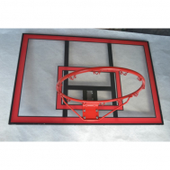 Баскетбольный щит 112x75 Vigor BB001